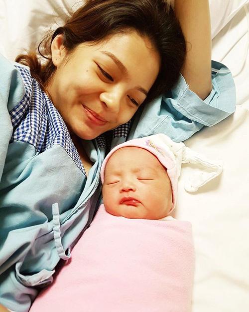 maya septha melahirkan anak kedua