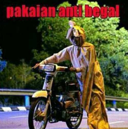 Pakaian anti begal