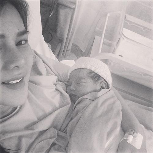 Astrid Tiar melahirkan bayi perempuan anak kedua @instagram.com/astridtiar127