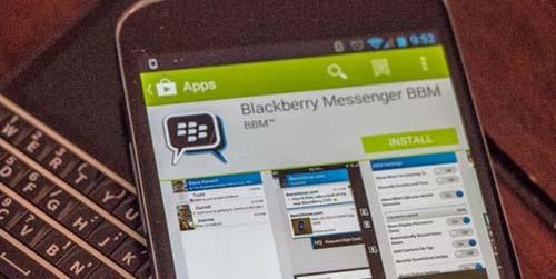 4 Fitur di BBM Android Digratiskan