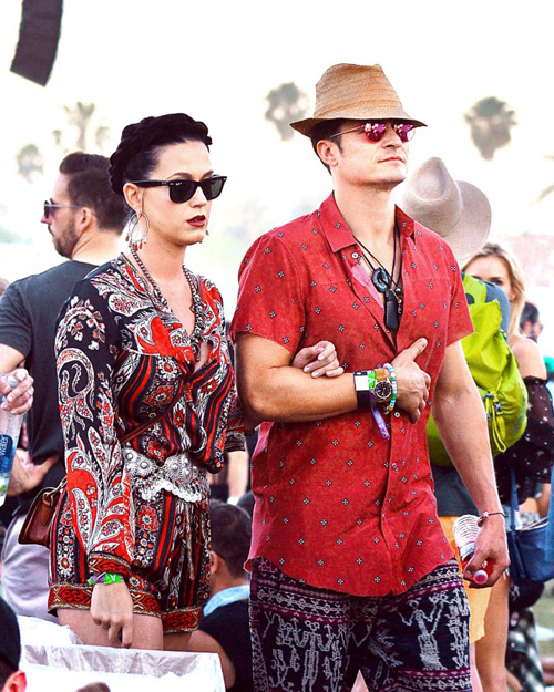 Katy Perry dan Orlando Bloom @gotceleb.com
