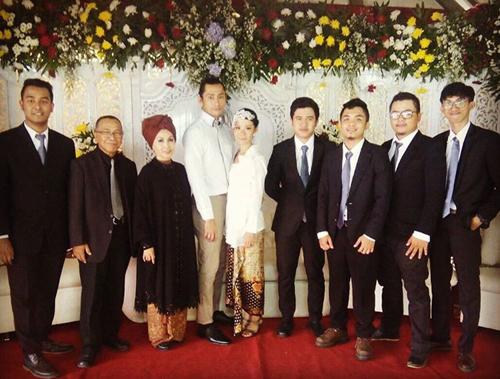 Pernikahan Revaldo dan Indah Puspitasari @instagram.com
