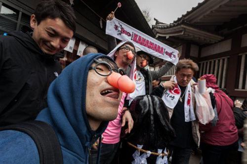 Foto: Kanamara Matsuri, Festival Mr. P di Jepang