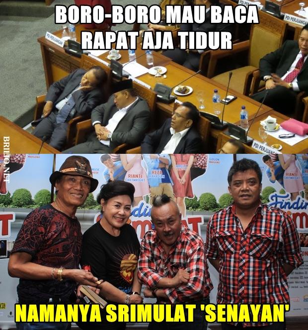 Namanya Srimulat 'Senayan'