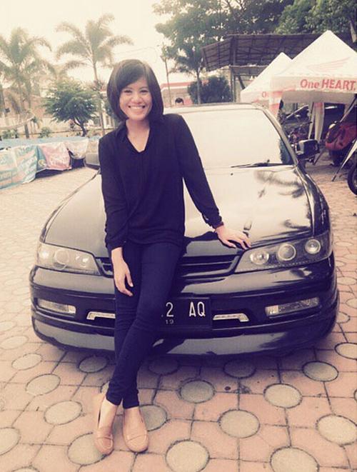 Foto: Ipda Perida Panjaitan, Polwan Cantik di Medan