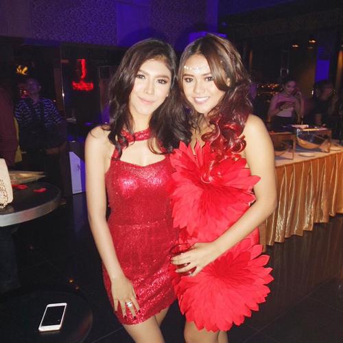 Foto Hot Rica Andriani Teman Aurel Hermansyah yang Doyan Party
