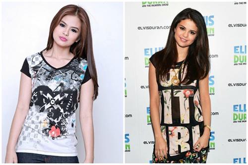 Bea Binene dan Selena Gomez