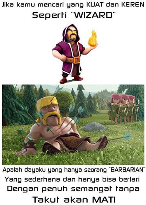 Apalah dayaku yang hanya seorang Barbarian