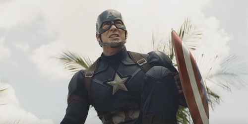 Aksi Keren Captain America Bareng Falcon & Scarlet Witch di Trailer Civil War