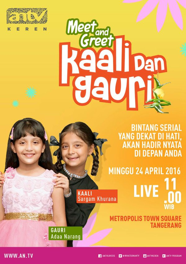 meet and greet kaali dan gauri di indonesia