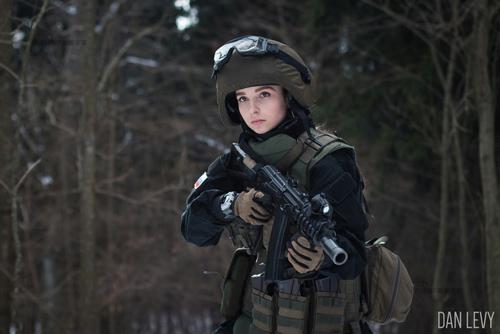 Foto: Elena Deligioz, Tentara Rusia Tercantik di Dunia