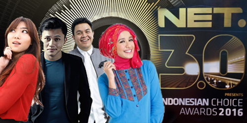 Daftar Nominasi Indonesian Choice Awards 2016