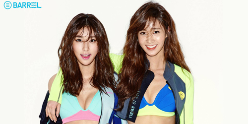 Foto Hot Yuri SNSD & Vivian Jadi Model Baju Renang Barrel