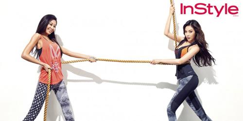 Foto Seksi HyunA dan Jessi Disebut Pamer Payudara Oplas