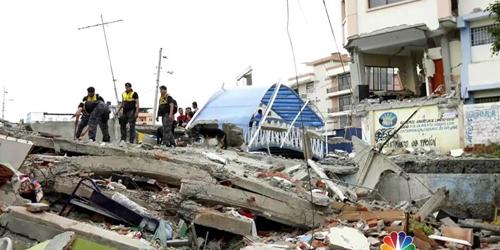 Gempa 7,8 SR Guncang Ekuador, 235 Tewas Ribuan Terluka