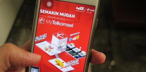 Gratis Pulsa Rp 50 Ribu, Aplikasi My Telkomsel Banjir Unduhan