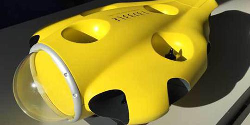 iBubble, Drone Canggih Bisa Menyelam & Merekam