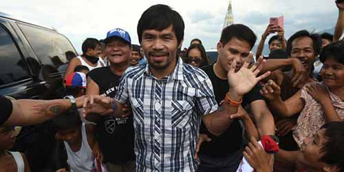 Jadi Sasaran Abu Sayyaf, Manny Pacquiao Kaget