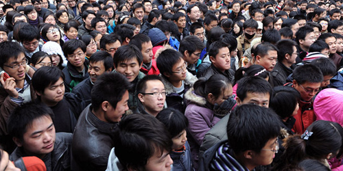 Jumlah Warga Tiongkok Meledak 1,45 Miliar Jiwa Tahun 2050