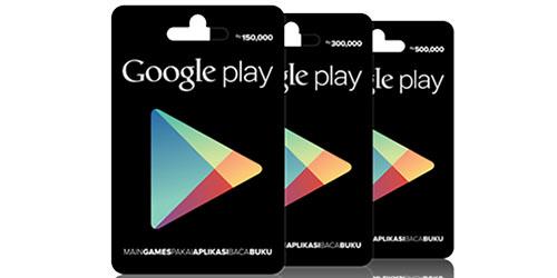 Kartu Kupon Google Play Resmi Hadir di Indonesia