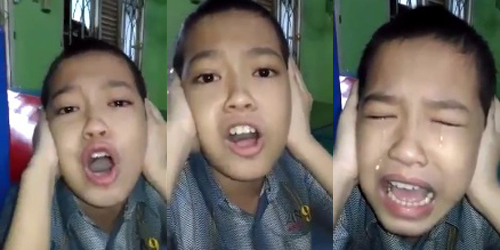 Mengharukan! Video Anak Autis Lantunkan Azan Dengan Merdu