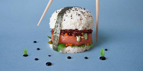 Sushi Burger, Burger dari Sushi Lagi Hits