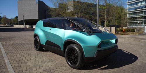 Toyota Hadirkan Mobil SUV Bak Kantor Berjalan