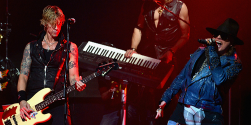 Video Keren Konser Reuni Guns N' Roses di Los Angeles