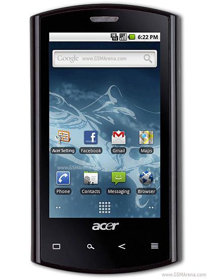 Spesifikasi Acer Liquid E