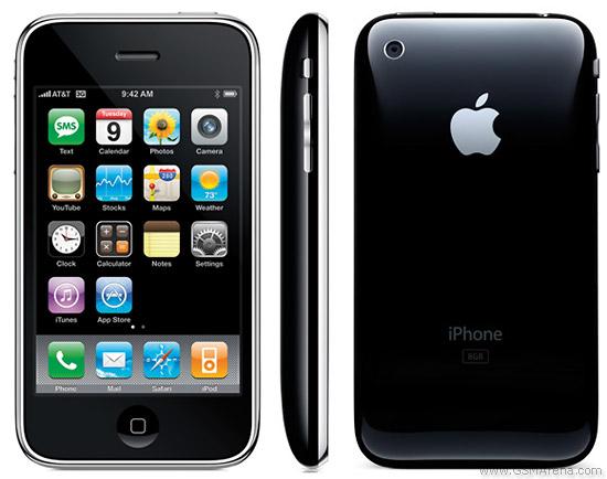Spesifikasi Apple iPhone 3G