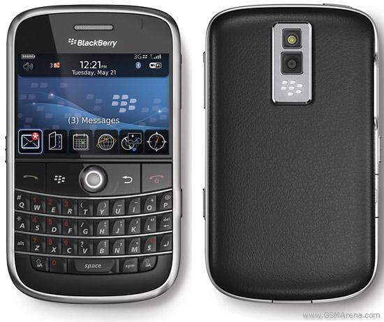 Spesifikasi BlackBerry Bold 9000