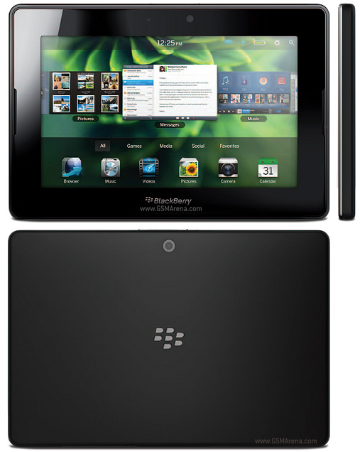 Spesifikasi BlackBerry 4G LTE PlayBook 2012