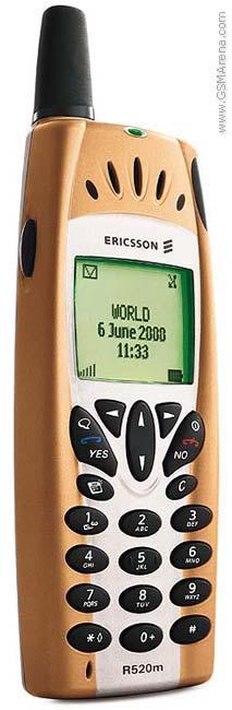 Spesifikasi Ericsson R520m