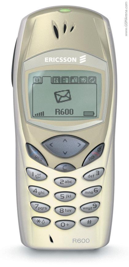 Spesifikasi Ericsson R600