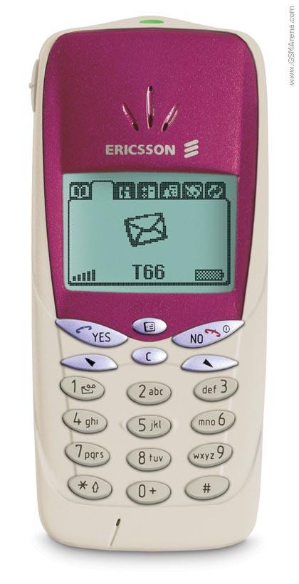 Spesifikasi Ericsson T66