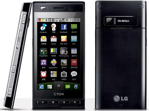 Spesifikasi LG Optimus Z