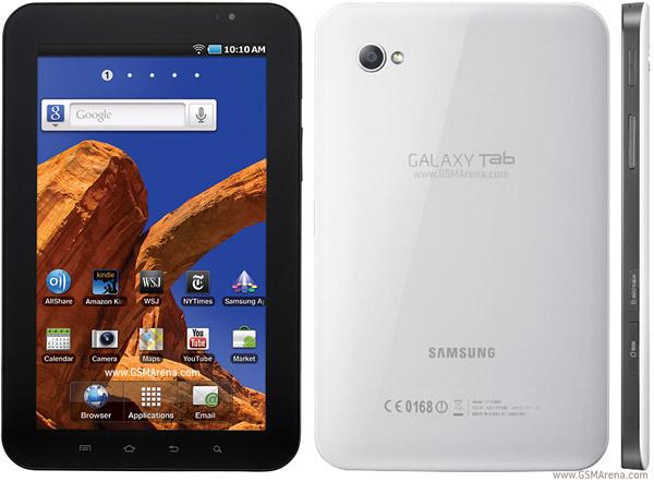 Spesifikasi Samsung P1010 Galaxy Tab Wi-Fi