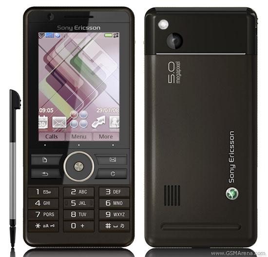 Spesifikasi Sony Ericsson G900