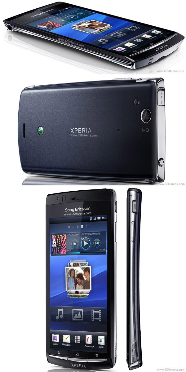Spesifikasi Sony Ericsson Xperia Arc