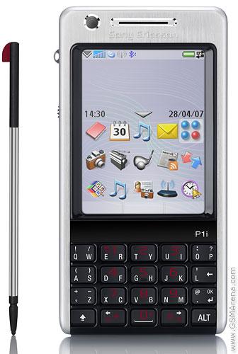 Spesifikasi Sony Ericsson P1