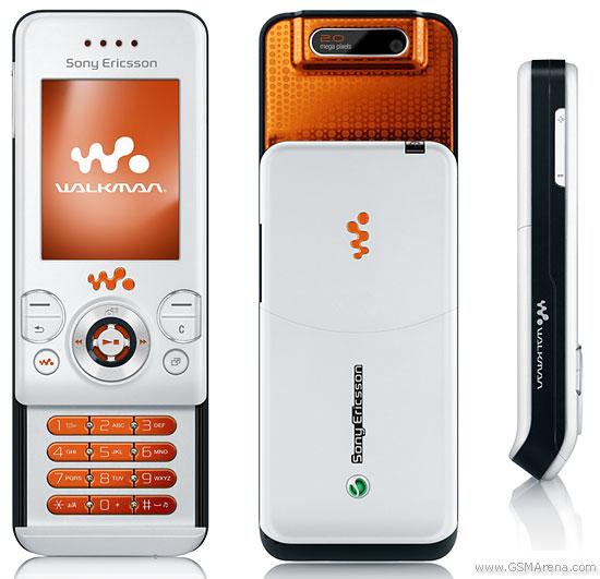 Spesifikasi Sony Ericsson W580