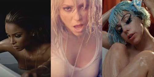 10 Video Klip Seksi Dalam Bak Mandi