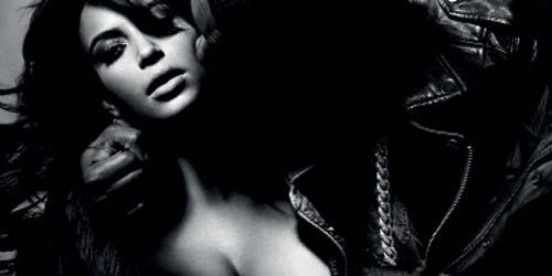 Beredar Foto Kanye West Remas Dada Kim Kardashian