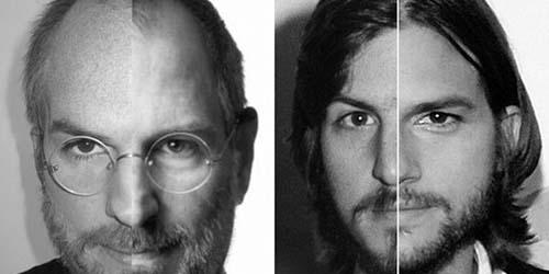 Bukti Ashton Kutcher Kembaran Steve Jobs