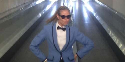 Heidi Klum Ber-Gangnam Style Bareng Psy