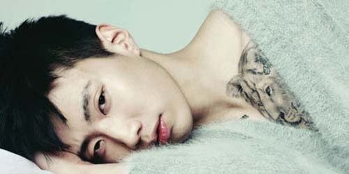 Jay Park Tunjukan Tato Singa di Dadanya