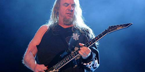 Jeff Hanneman, Gitaris Slayer Meninggal