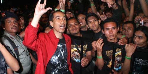 Jokowi Bikin Solo Jadi Woodstock Indonesia