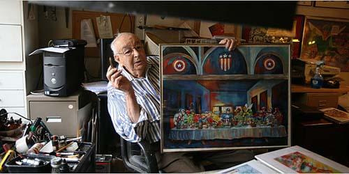 Kabar Duka, 'Joe Simon' Kreator Captain America Meninggal Dunia