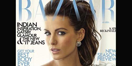 Kate Beckinsale Tampil Elegan di Majalah Bazaar Arabia